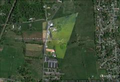 2013-05-21, Gray Tennessee Crop Circle, Google Earth GPS